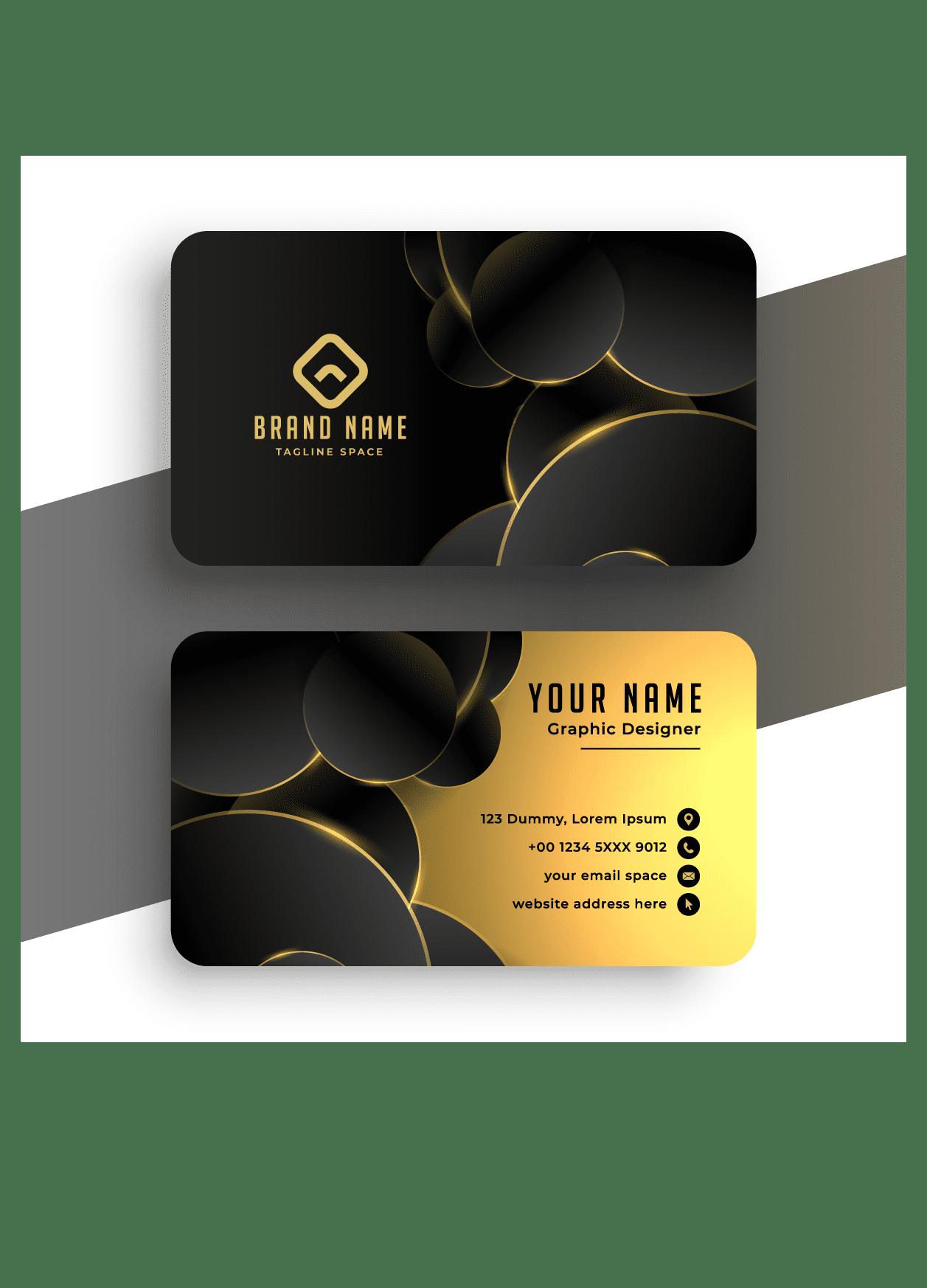 Namecard BlackNGold [Converted]
