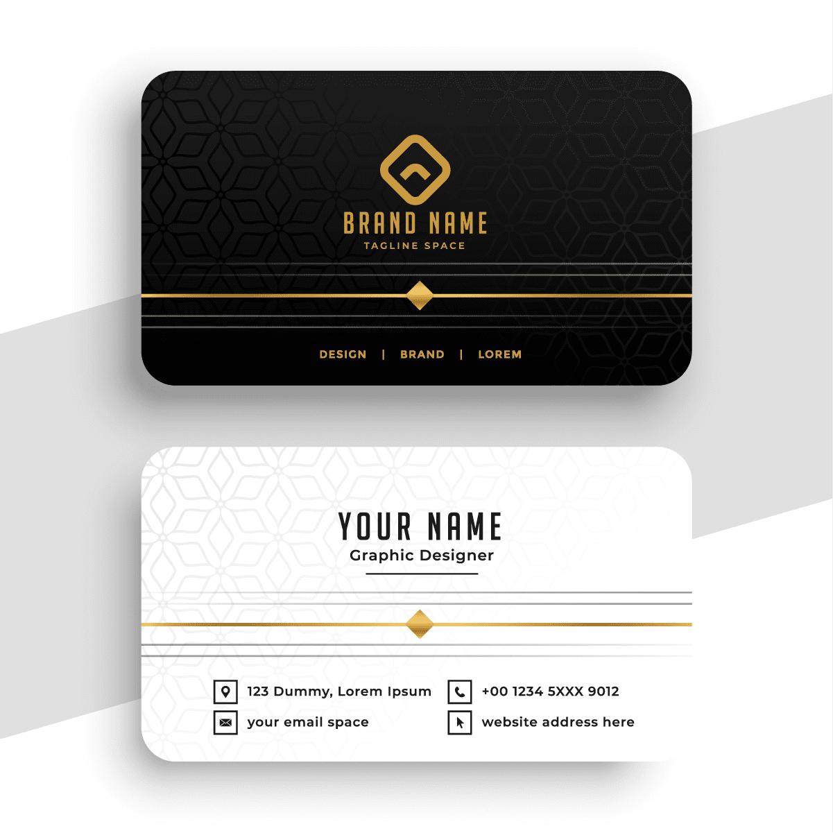 Namecard Ivory Black&White [Converted]