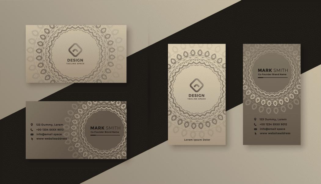 Namecard Matt Gold Horizontal & Vert [Converted]