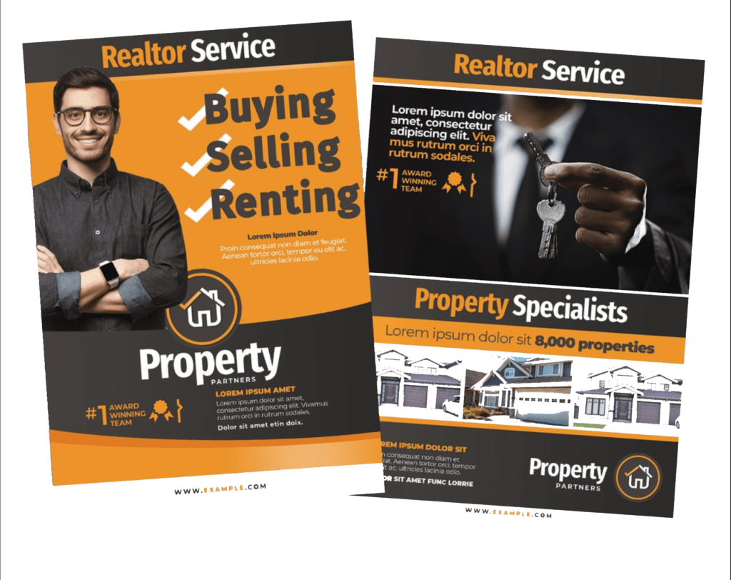 7 steps  u0026 tips on designing real estate flyers that sell